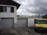 <h5>Ballustrade & Portes de Garage</h5><p>Cette installation a été réalisée par nos soins</p>